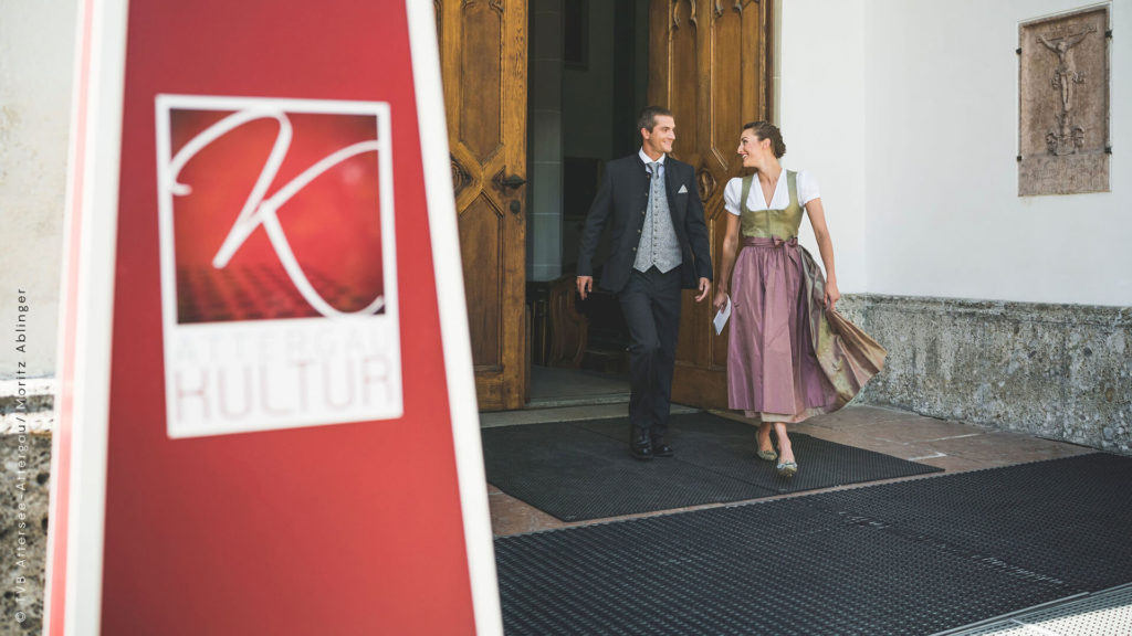 Events & Veranstaltungen in St Georgen in Attergau: Ehepaar geht zum Kultursommer